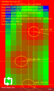 3d touch heatmap