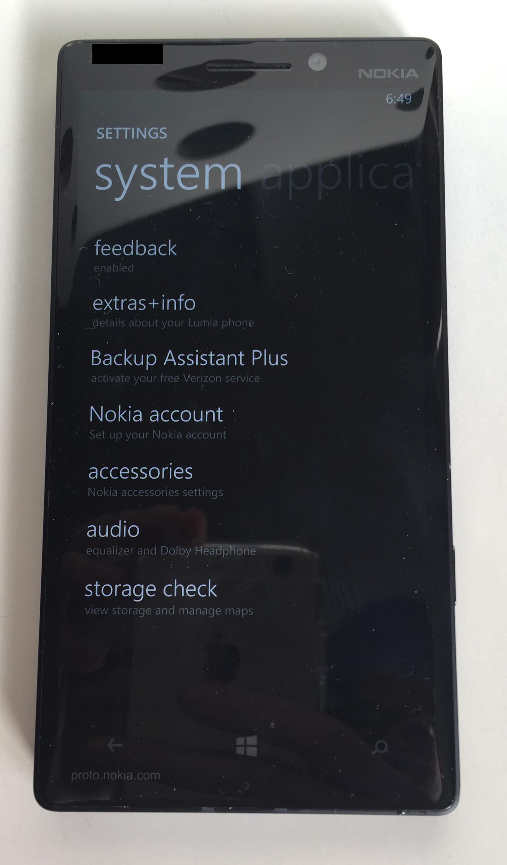The first Lumia Icon - Proto Beta Test